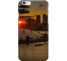 Sunset Over the Dome iPhone Case/Skin