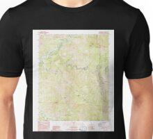 USGS TOPO Map California CA Case Mountain 289020 1987 24000 geo Unisex T-Shirt