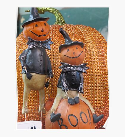 Halloween Characters Poster