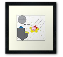 Crossover 12 - In Spaaaace Framed Print