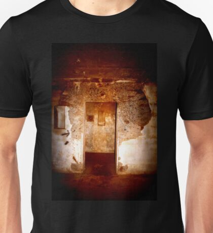 Battery Mishler entrance to a stairwell Unisex T-Shirt