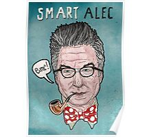 """Smart Alec"" Baldwin Poster"