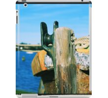Prow of a boat iPad Case/Skin