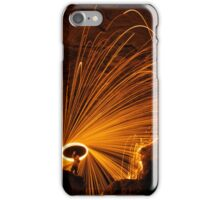 Fire at Cave In Rock iPhone Case/Skin