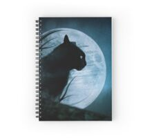 Hunter of the Night Spiral Notebook