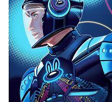 Pogo Space Suit by Nick Bertke