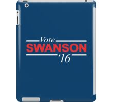Vote Ron Swanson 2016 iPad Case/Skin