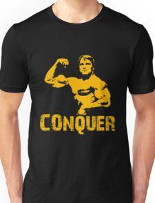 Arnold Schwarzenegger Gym Conquer Unisex T-Shirt