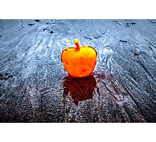 Apple on the Beach Photographic Print