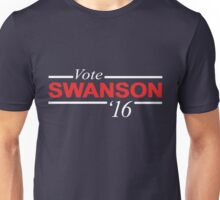 Vote Ron Swanson 2016 Unisex T-Shirt