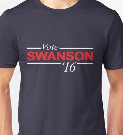 Vote Ron Swanson 2016 Unisex T-Shirt