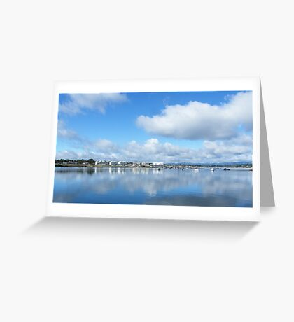 York Cove Panarama Greeting Card