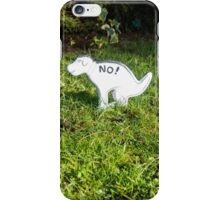 No Pooping iPhone Case/Skin