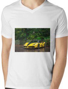 Ferrari Mansory 488 GTB 4XX Siracusa  Mens V-Neck T-Shirt