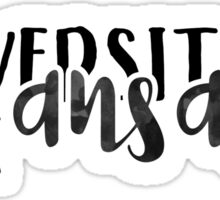 University of Kansas - Style 1.5 Sticker