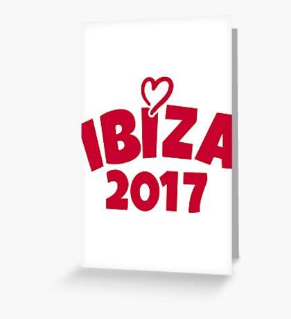 Ibiza 2017 Greeting Card
