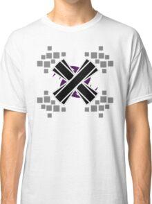 Emphasized Black 'X' Classic T-Shirt