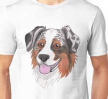Happy Australian Shepherd Unisex T-Shirt
