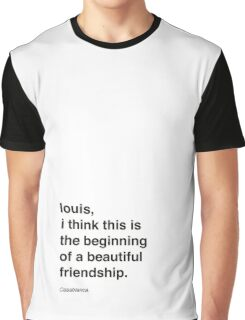 louis - Casablanca Graphic T-Shirt