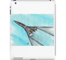 Riding the wave iPad Case/Skin