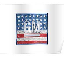 General Motors. Poster