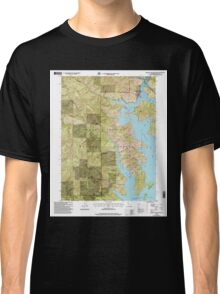 USGS TOPO Map California CA Bohemotash Mountain 100562 1998 24000 geo Classic T-Shirt