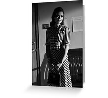 Lucy Hale 1930s Greeting Card