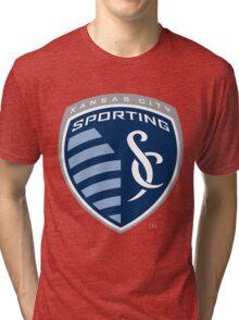 Sporting KC Tri-blend T-Shirt