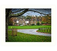 Village Green Art Print