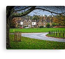 Village Green Canvas Print