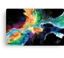 The universe 3 Canvas Print