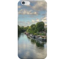River Seine at La Defense, France #3 iPhone Case/Skin