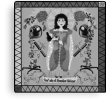 Our Lady of Abundant Haircuts Canvas Print
