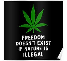 Legalize Nature Poster