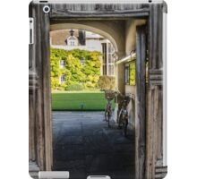 Through the Wooden Door iPad Case/Skin