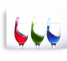Primary colours Metal Print