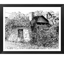 Old derelict shed Photographic Print