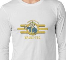 Fallout - Vault Tec Design Long Sleeve T-Shirt