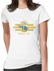 Fallout - Vault Tec Design Womens Fitted T-Shirt