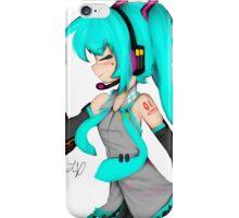 Hatsune Miku  Original Design iPhone Case/Skin