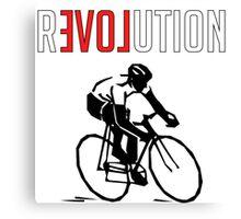 Cycling rEVOLution Canvas Print