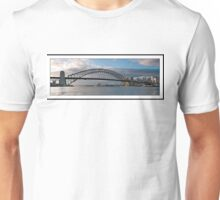 .Sydney Harbour Bridge at Dawn.  Unisex T-Shirt