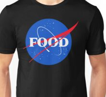Nasa Food Logo Unisex T-Shirt