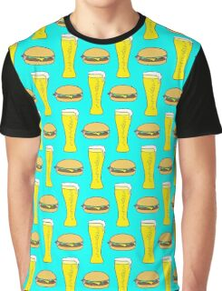 Burgers and Beers Graphic T-Shirt
