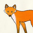 I Can See You Mr Fox by zoel