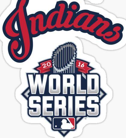 Cleveland Indians World Series #RallyTogether Sticker