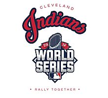 Cleveland Indians World Series #RallyTogether Photographic Print