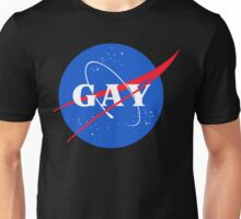 Nasa Gay Pride Logo Unisex T-Shirt