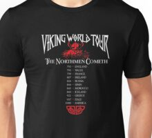 Valhalla Shirt - Vikings Valhalla T Shirt- VIKING WORLD TOUR Unisex T-Shirt
