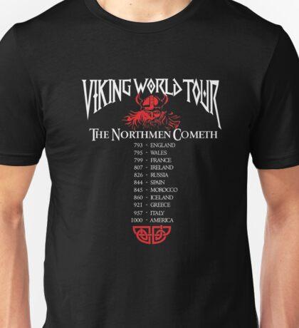 Valhalla Shirt - Vikings Valhalla T Shirt- VIKING WORLD TOUR Unisex T-Shirt